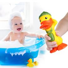 Baby Bath Toys Cute Temperature Sensitive Duck Water Children Gifts