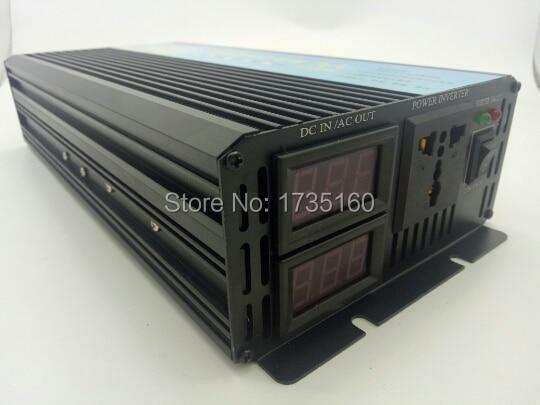 convertidor de potencia Pure Sine Wave Inverter 2500W peak 5000W Pure Sine Wave inverter 12V DC