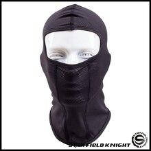 Новая дышащая скорость сухой Спорт на открытом воздухе для езды, катания на лыжах маска тактическая крышка головы мотоциклетный шлем Велоспорт Полный уход за кожей лица маска
