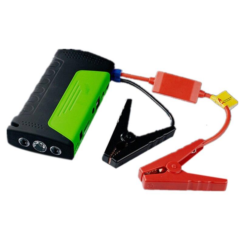 Nouveau-dispositif de démarrage d'urgence démarreur de saut de voiture 12 V Portable batterie externe chargeur de voiture pour voiture batterie Booster démarrage automatique Dev
