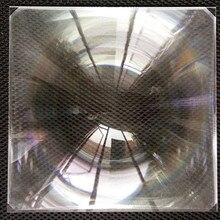 Квадратная Солнечная линза Френеля для солнечного концентратора, квадратная оптическая ПММА пластиковая Солнечная линза Френеля 104*104 мм fl55мм