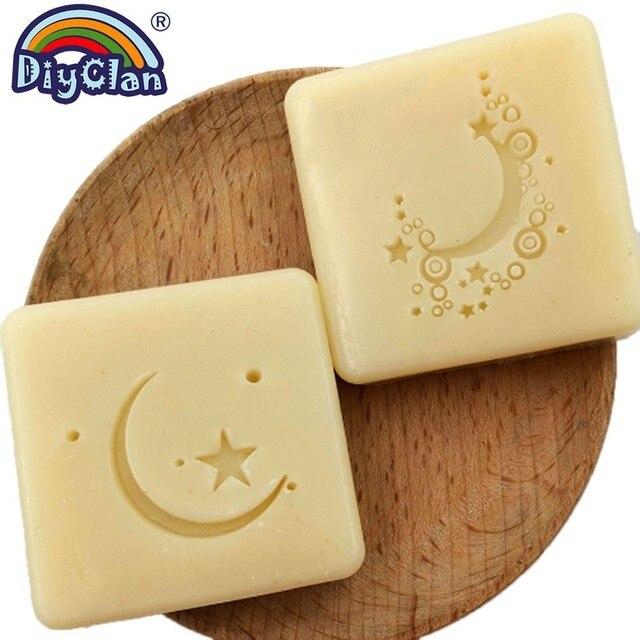 Transparent Moon Star Soap Stamp Islam Ramadan Handmade Stamp For Soap Making Ramazan Kareem Chapter Diy Creative Gift