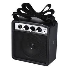 цена на Mini 5 Watt 9V Battery Powered Amp Amplifier Speaker for Acoustic/ Electric Guitar Ukulele High-Sensitivity