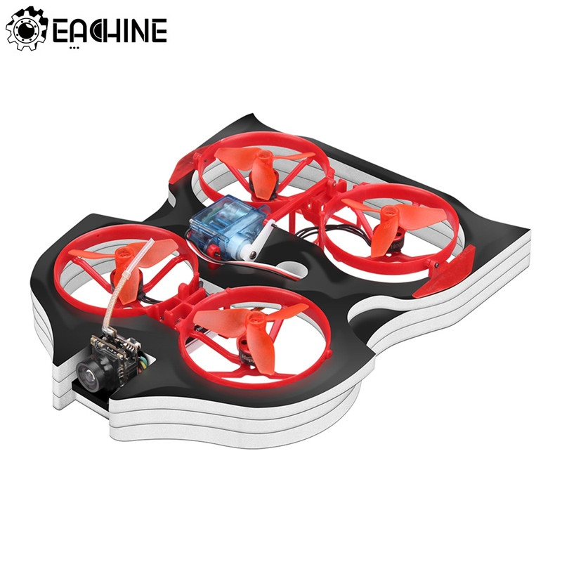 Eachine Vwhoop90 48CH PH2.0 BrushlessTiny WhoopTiny Whoov 2-in-1 FPV Racing Drone with Crazybee F3 700TVL Cam For KidsToysEachine Vwhoop90 48CH PH2.0 BrushlessTiny WhoopTiny Whoov 2-in-1 FPV Racing Drone with Crazybee F3 700TVL Cam For KidsToys