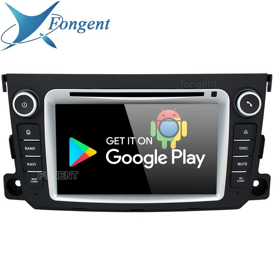 IPS Android 9 0 Unit DVD Multimedia Player for Mercedes Benz Smart Fortwo 2011 2012 2013