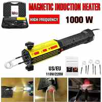 Induction Heater Bolt Heat Disassembler Magnetic Induction Heater 220V/110V Screw Tool Bolt Remover Repair Machine Tool