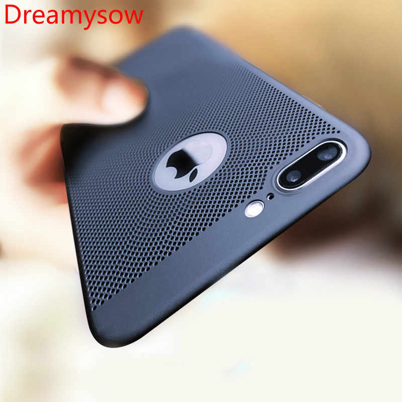 Теплоотвод ультра тонкий чехол для телефона для iPhone 6 6s 7 8 Plus X XS полый чехол s Жесткий ПК для iPhone 11 Pro Max задняя крышка Coque