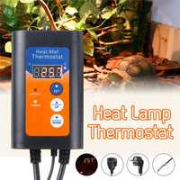 1000W 220V Digital Heat Mat temperature Thermostat Controller for Seed Germination Pet Reptile Supply Safe New