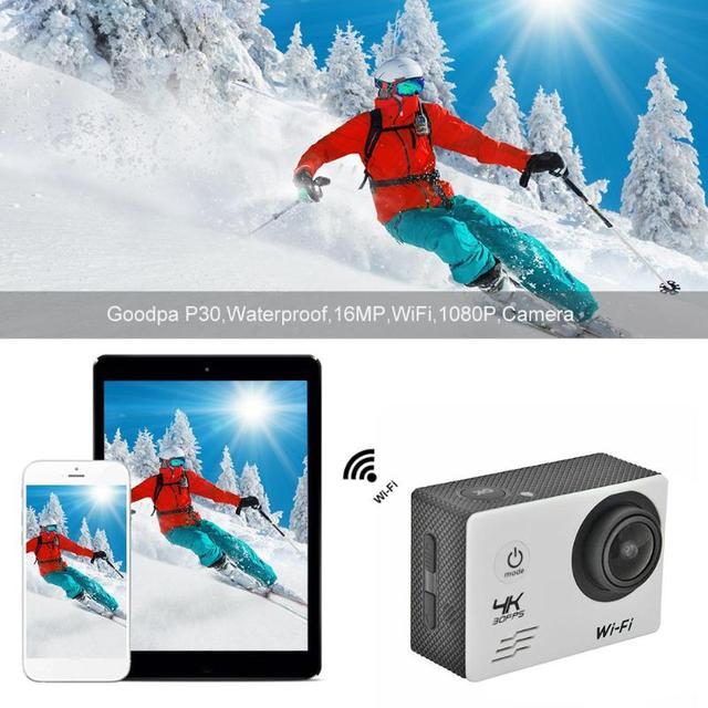 SJ8000B Somy 179 CMOS Action Camera 4K WIFI 1080P HD 16MP 4X Zoom Helmet Cam 30m Waterproof 170 Degree Wide Angle Lens Sports DV 5