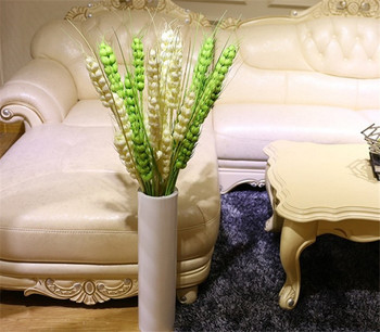 10Pcs 120cm artificial wheat artificial plant fake plants greenery for wedding home decoration