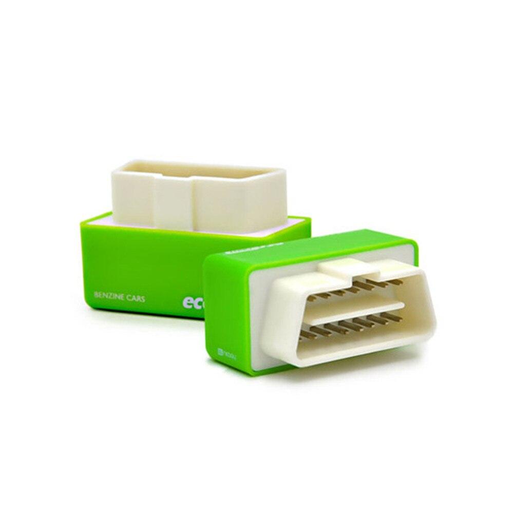 NitroOBD2 Gasoline Plug & Drive Performance For Benzine Eco OBD2 ECU Chip Tuning Box 20% Fuel Saving More Power (Green)