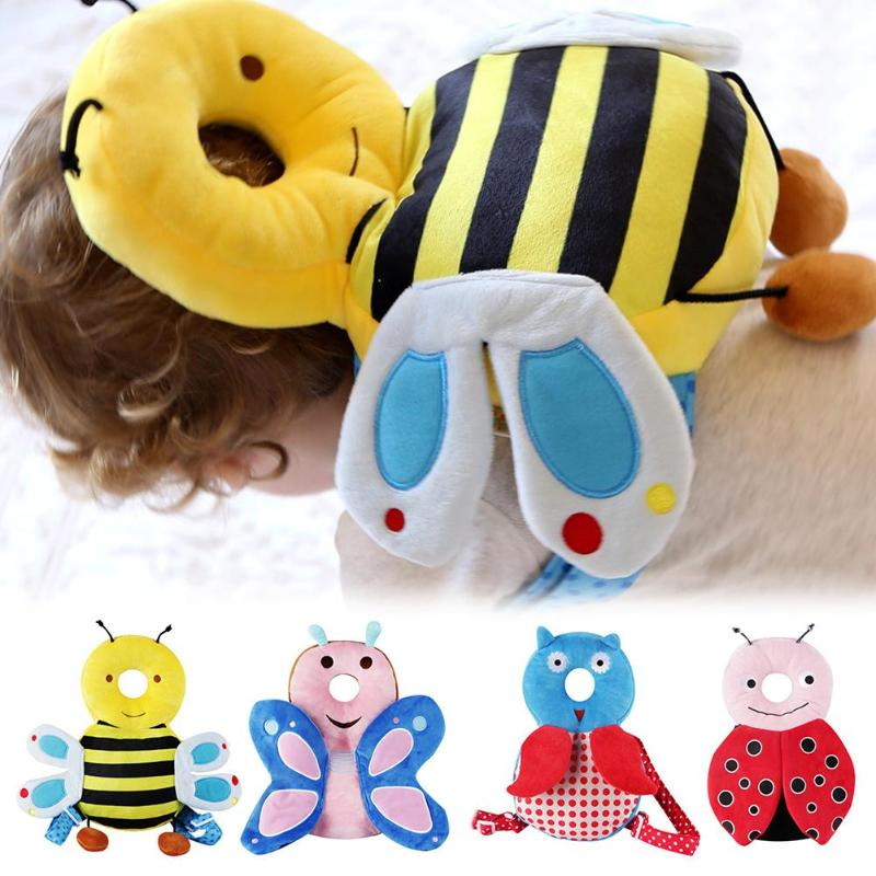 Safety Baby Head Protection Pillow Toddlers Headrest Pad Neck Protector Backpack Cushion Cute Drop Resistance Cushion For Kids