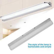 Modern Simple Acrylic LED Bedroom Bathroom Wall Lamps Mirror Lights AC 86-265V wall lights for bedroom wall lamp цена 2017
