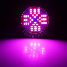 48W LED E27 Hydroponic Plant Grow Light Full Spectrum LED Grow Lights Indoor Growing Lamp for Greenhouse High Quality led grow light 450w greenhouse lighting plant growing led lights lamp hydroponic indoor grow tent high par value double chips