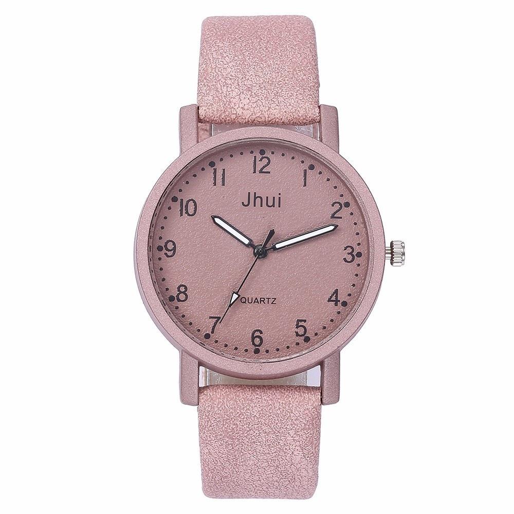 2019 Best Selling Fashion Women Leather Watch Casual Luxury Ladies Quartz Watch Gift Clock Relogio Feminino Drop Shipping