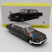 Atlas 1/43 французский Dinky 1435 Citroen DS, дома, литые модели игрушек, подарок, б/у