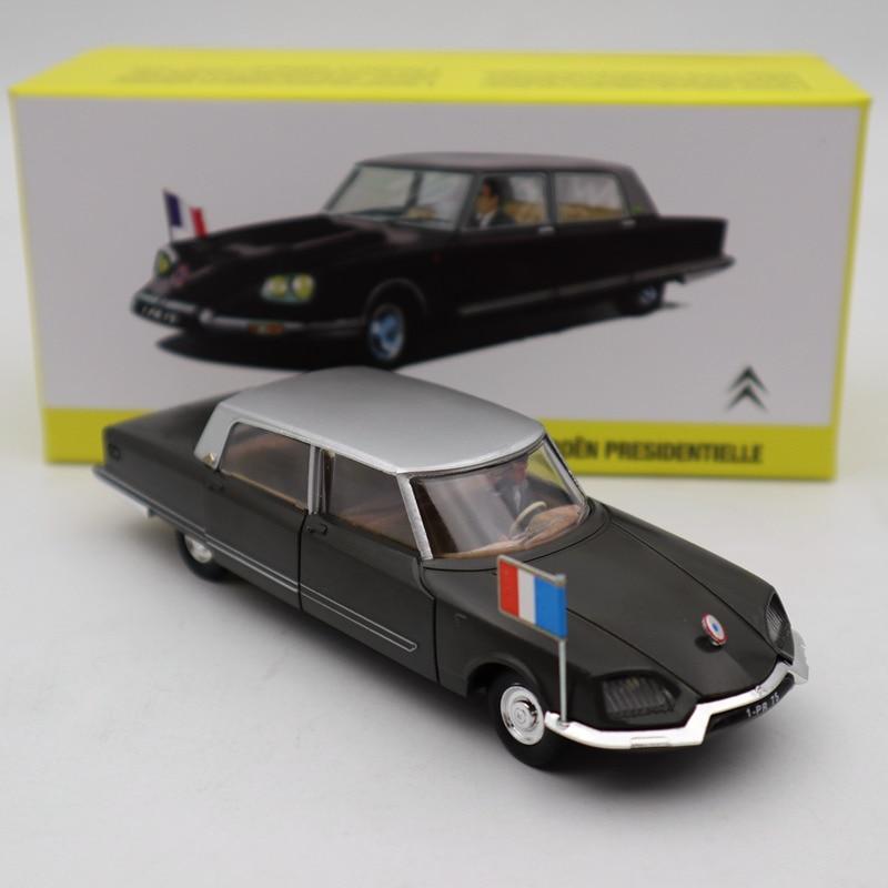 Atlas 1/43 French Dinky 1435 Citroen DS Presidentielle Diecast Models Toys Car GIFT