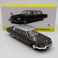 Atlas 1/43 French Dinky 1435 Citroen DS Presidentielle Diecast Models Toys Car GIFT