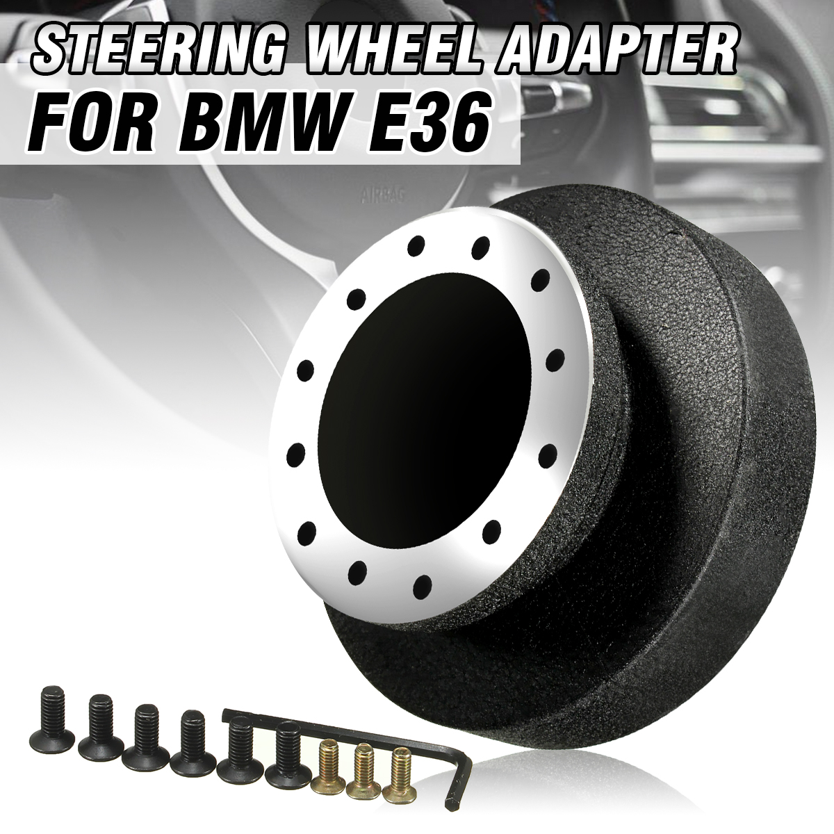 Steering Wheel Racing Hub Adapter Boss Kit Fit For BMW E36 Nardi for Personal Abarth Indy Raid Italvolanti etcSteering Wheel Racing Hub Adapter Boss Kit Fit For BMW E36 Nardi for Personal Abarth Indy Raid Italvolanti etc