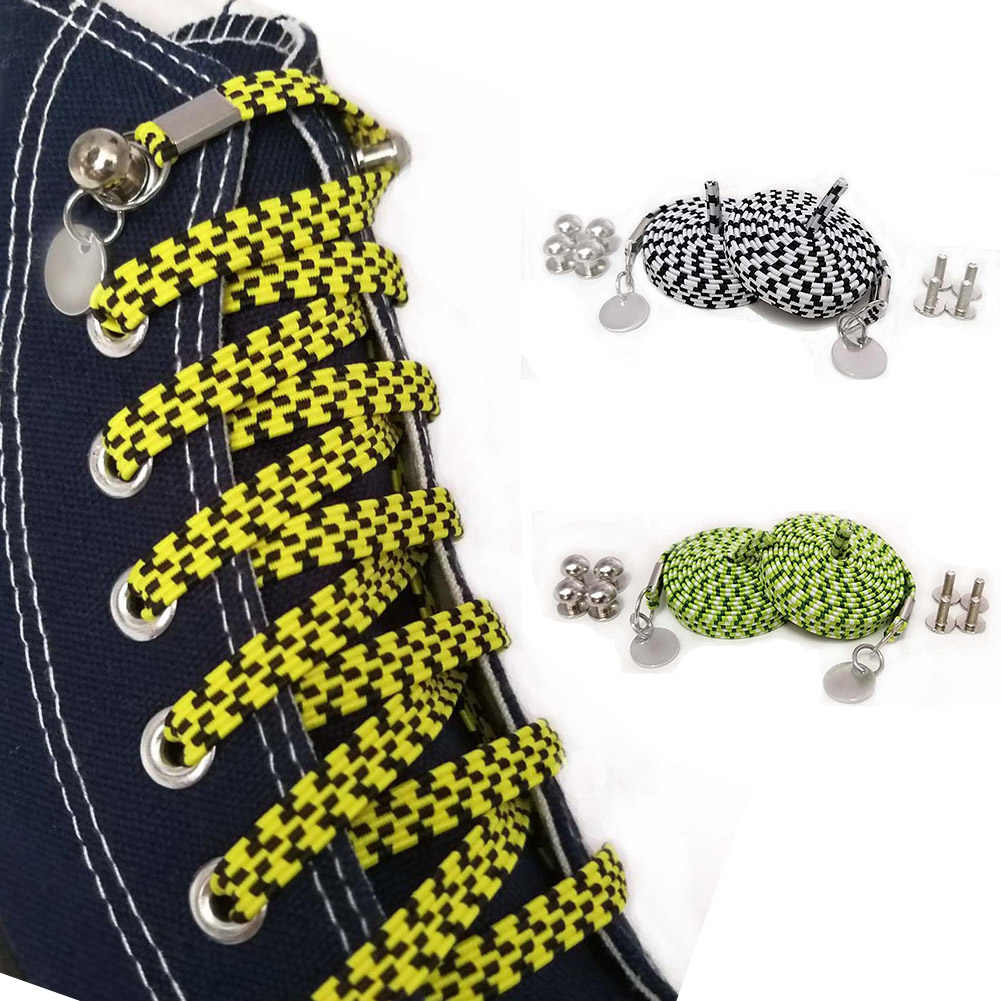 New Funny Lazy No Tie Shoelaces Quick