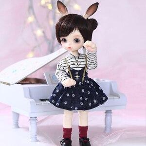 Image 5 - Gina BJD SD Puppe 1/6 Körper Modell Baby Mädchen Jungen Hohe Qualität Spielzeug Shop Harz FiguHuman Version und Fantasie Version