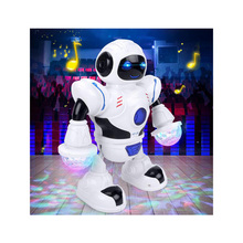 Electronic Toy Robot Dancing Singing Robot with Musical and Colorful Flashing Li