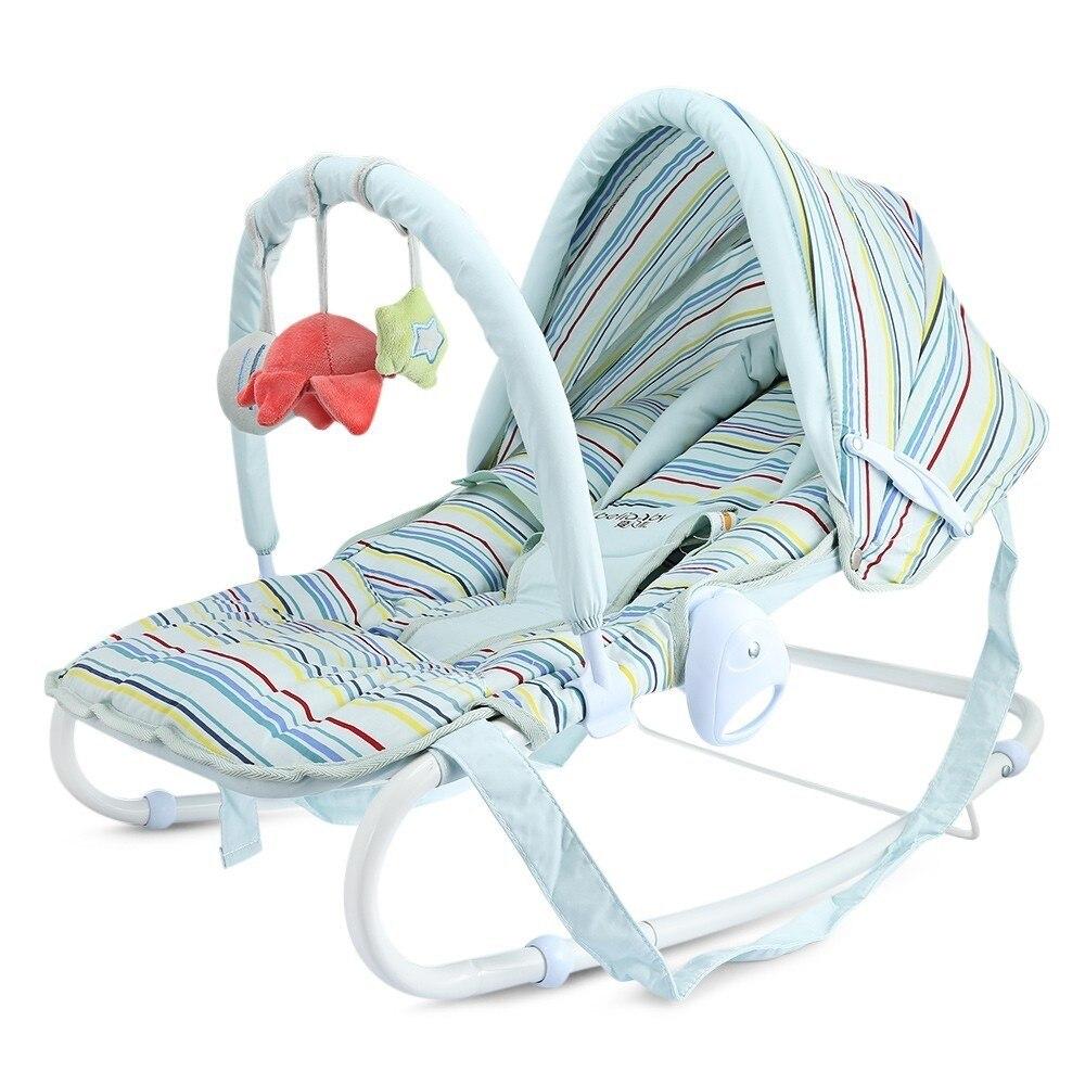 Haute Qualité Infantile À Bascule Bébé Chaise Berçante Chaise Nouveau-Né Siège Berceau Nouveau-nés Lit Bébé Berceaux Lit Lecteur Président Équilibre