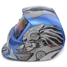 Сварочный шлем маска Солнечная энергия автоматический сменный свет электрический сварочный защитный шлем с героем персонажа