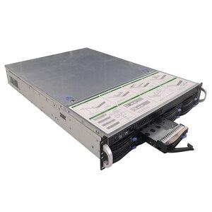 Image 2 - Carcasa de servidor de almacenamiento IPC 2U de 19 pulgadas, chasis de intercambio en caliente, 8HDD, bahías IPFS, S265 8, 6GB, SATA, Avión de fondo con fuente de alimentación de 600W