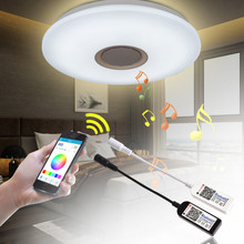 LAIDEYI DC 12V Mini LED RGB Controller 4 Channel Bluetooth RGBW Led Controller IOS / Android APP For RGB LED Strip Light