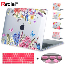 цена Redlai For New 2016 Macbook Pro 13 15 with touch bar A1706 A1707 & Air 13 inch Pro Retina 13 15