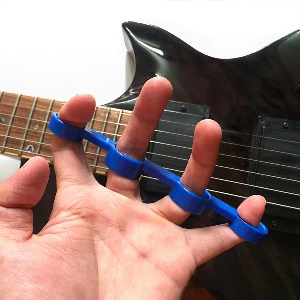 Finger Span Training Hand Grips Guitar Hand Finger Exerciser Guitarra Bass Piano Finger Tension Grip Power Trainer Accessories(China)