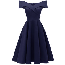 The high quality satin Evening Dress princess vintage short party dresses elegant One word led evening gown