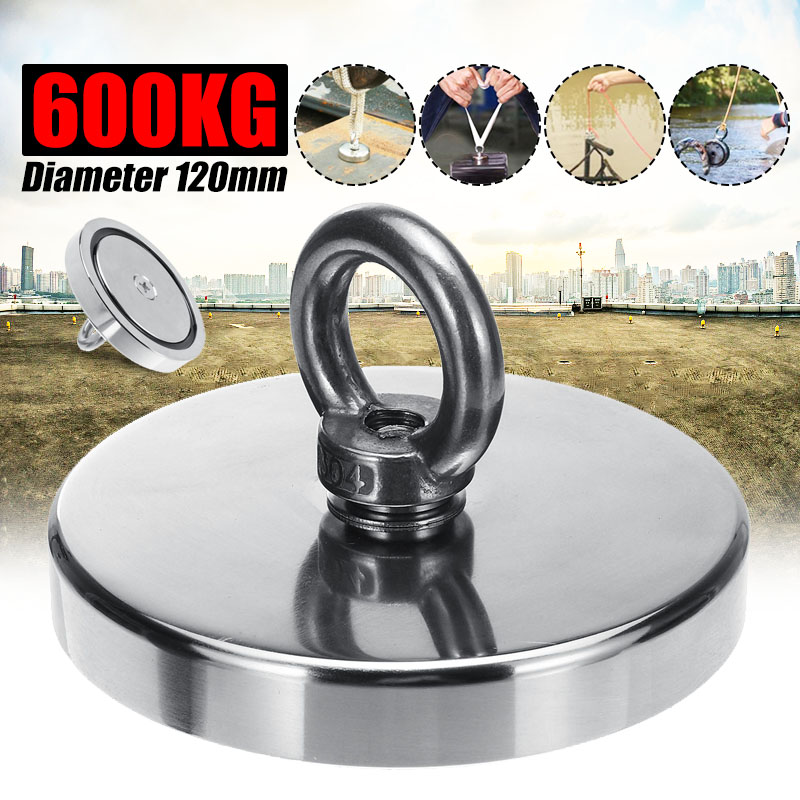 300/400/600KG Neodymium Recovery Searching Strong Power Magnet Metal Detector Salvage Magnet Treasure Hunting Underwater Fishing300/400/600KG Neodymium Recovery Searching Strong Power Magnet Metal Detector Salvage Magnet Treasure Hunting Underwater Fishing