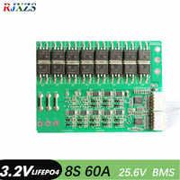 8S 60A lifepo4 BMS PCM 8s 24V lifepo4 バッテリー保護ボードためバランス bms pcm lifepo4 バッテリーパック
