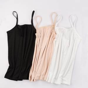 Summer Tank Top Women Sexy Slim Camisole Spaghetti Strap Cotton Vest Breathable Female Undershirt Camis Tank Tops for Women