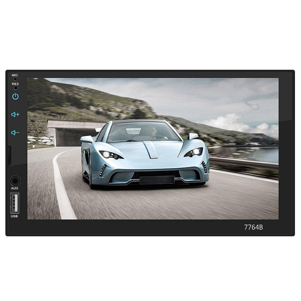 Nouveau-AUTO RADIO Auto MP3 Kaart Speler Auto 7 pouces HD Bluetooth appel MP5 Speler 7764B