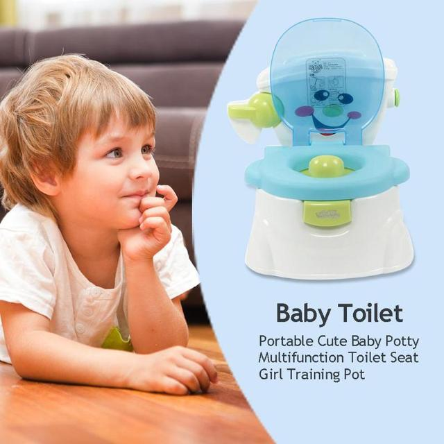 Portable Baby Pot Cute Toilet Seat Pot For Kids Potty Training Seat Children's Potty Baby Toilet Bowl Pot Training Potty Toilet | Happy Baby Mama