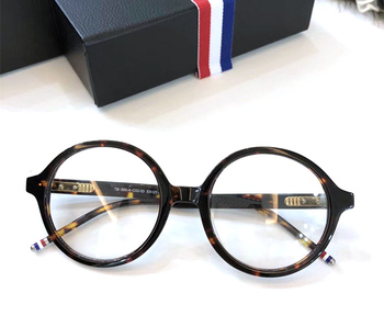 a377e9f72a Gafas redondas Retro de 2019 para mujer, diseñador de marca, gafas de moda  para hombre, gafas ópticas, montura, gafas TB500