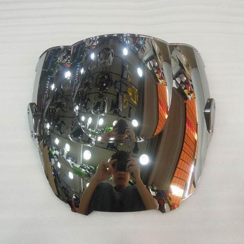 Pour 95 96 97 98 Honda CBR600 F3 1995-1998 1996 1997 cbr 600 f3 Moto Pare-Brise Argent Écran Double bulle