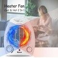 2000 watt Elektrische Haushalts Fan Heizung Drei Wärme Einstellungen Warme Luft Gebläse Automatische Überhitzung Schutz Mit Flammhemmende Shell