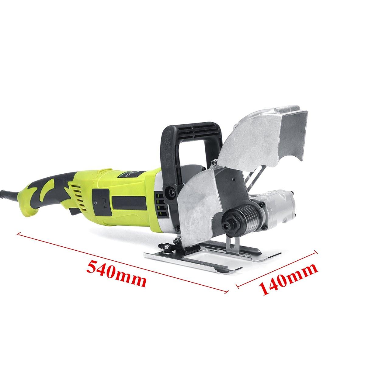 Elektrische Ziegel Wand Nut Schneiden Maschine 220V 4000W Stahl Beton Cutter Stoßen Maschine DIY Hause Dekoration Einstechen Werkzeuge