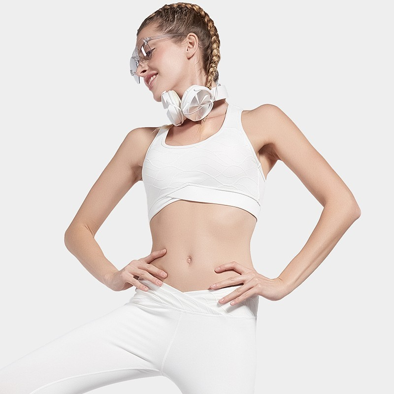 Yoga Sport Top Female Sports Bra Padded Women Fitness Brassiere Sports Underwear Workout Jogging Running Tank Top Sport Clothing in Sports Bras from Sports Entertainment