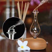 Holz Glas Aromatherapie Reine Ätherische Öle Diffusor Luft Vernebler Luftbefeuchter Haushalt Luftbefeuchter Klimaanlage Appliance