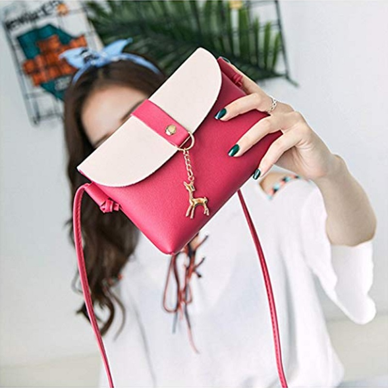 coins bag Women Shoulder Candy-colored Sweet Lady Small Mobile Purse Crossbody Cute Bags Handbags Messenger Bag
