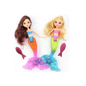 Image 4 - 2019 עמיד למים שחייה בת ים בובת ילד בנות צעצוע חדש אמבטיה שחייה בריכה עמיד למים בת ים בובות בנות צעצוע 20cm