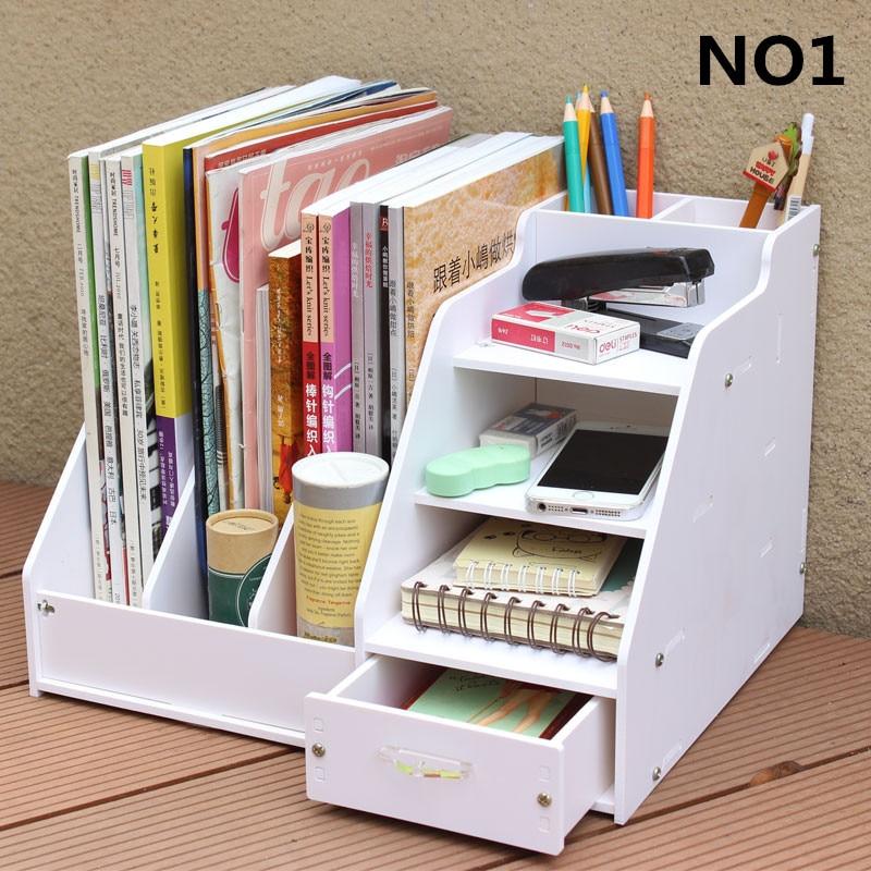 Diy Office School Supplies Accessories Stationery Desk Organizer