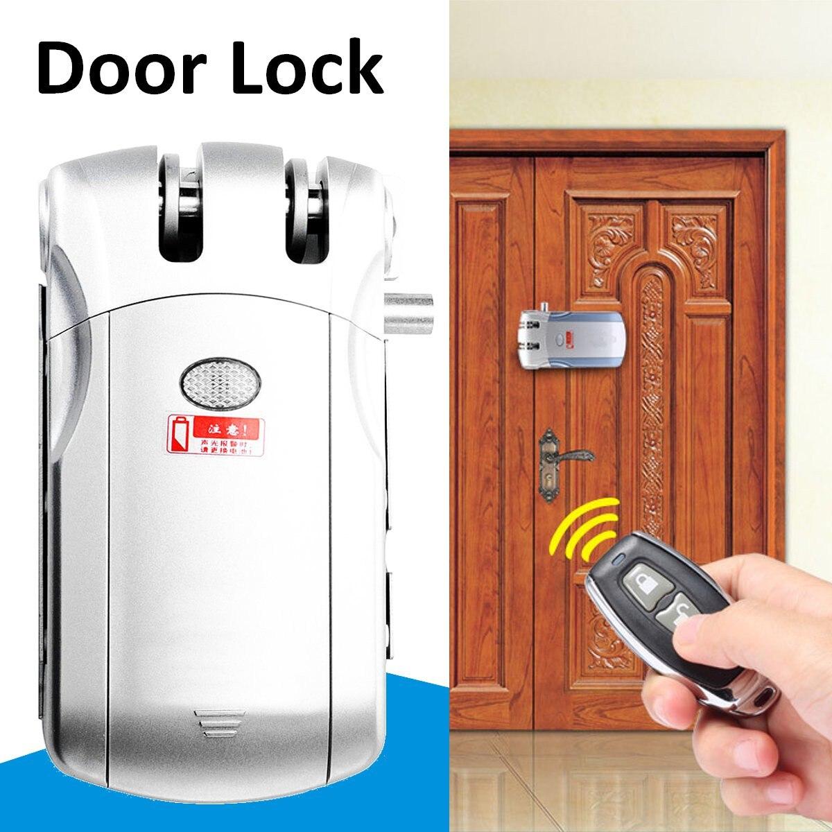 Télécommande électrique serrure de porte sans fil électronique Anti-vol sans clé intelligent contrôle d'accès accessoires Kit Set sécurité à la maison