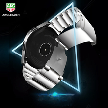 Metal Stainless Steel Watch Wrist Band Strap For Samsung Galaxy Gear S3 Classic Frontier huawei watch 2 Pro huami amazfit