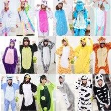 Новинка 2019 года Kigurumi пижамы для взрослых Единорог аниме панда Onesie  костюм теплые зимние одеяло комбинезон 7b164b8612bc2